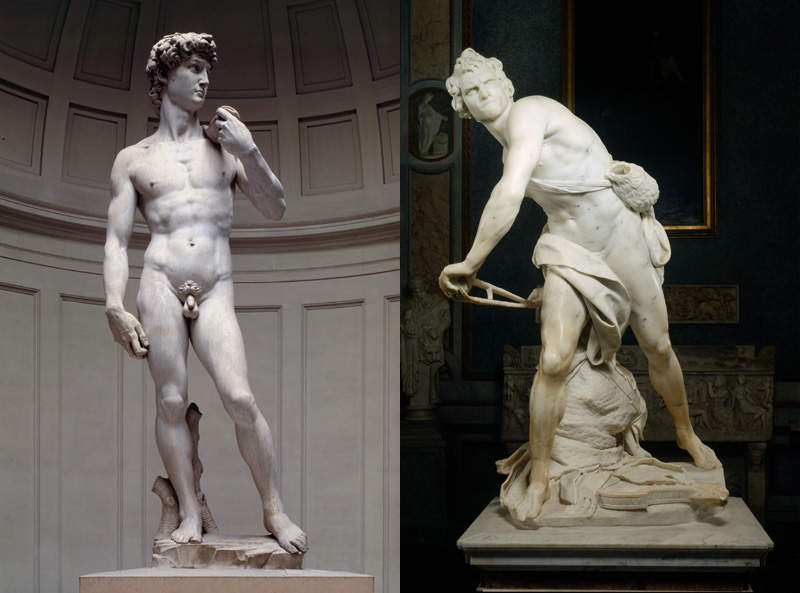 The David, Simbol Kegagahan Pemuda Melawan Goliath Karya Michaelangelo